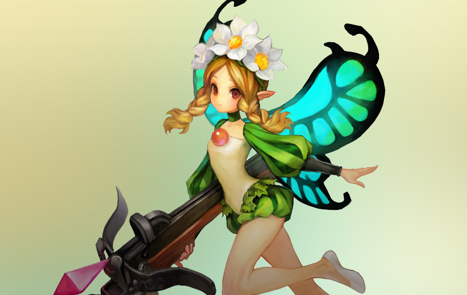 Mercedes from Odin Sphere